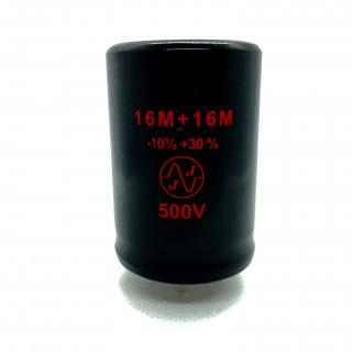 TC 529 16+16μF /500 V