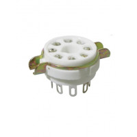 SOCKET, 8 PIN OCTAL
